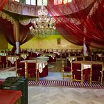 Another dining hall, Dar Essalam, Marrakech, Morocco