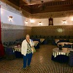 Another dining area, Dar Essalam, Marrakech, Morocco