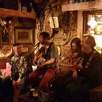 Dublin Band, Billy Treacy & the Scope, playing in O'Connors Pub in Salthill, Galway,  April 2018