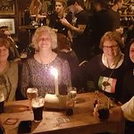 March 2018, Friends from New Zealand, USA & Ireland, enjoying a fabulous night in O'Connor's
