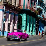 One of many colorful sites encountered on the I Love Cuba photo tour.