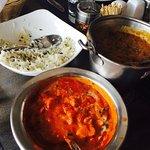 Paneer and Zeera rice, delicious.