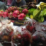 More exotic fruits