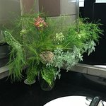 Fresh flowers in Women's restroom!
