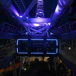 The Singapore Flyer at night