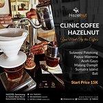 Hazelut Resto & Koffie, Clinic Coffee Hazelnut