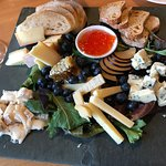 A delicious cheese platter to share