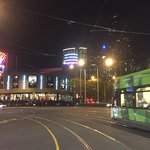 At the end of the Tram dinner