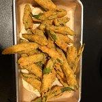 Fried Okra appetizer