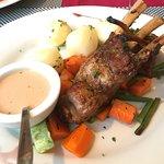 Lush lamb chops