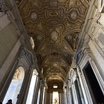 Corridor of St Peters Basilica