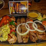 "The safari ""mixed grill"""