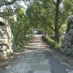 台所橋。本丸と二の丸を結ぶ橋。車道に出れます。ここから城内に入ると楽に本丸にアクセスできますが私は気が付きませんでした。