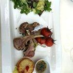 Lamb with Potato gratin