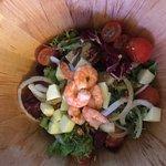 Langoustine Salad - in a big bowl!
