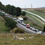 Traffic we avoided by using Dorset Tours
