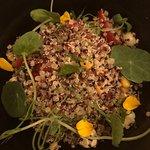 Solterito de quinoa