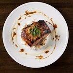 Red Miso Glazed Salmon