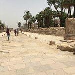 Walking between the temple complexes