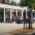 Great place for weary feet when visiting The Pantiles.