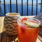 Drinks Pinapple & Strawberry Margaritas