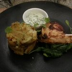 Tandoori Chicken with Bombay Potato, not as you know it!