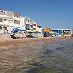 """Spiaggia ocn in fondo il ristorante """"da Enzo"""""""
