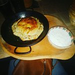 Amazing food ! I love this place! This is a mushroom pie and is vey good !