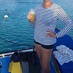 Drinks after snorkeling