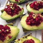 Vegan stuffed avocado - Avocats farcis végétalien
