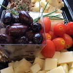 Cheese platter - Assiette de fromages