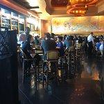 Bar area sitting
