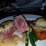 Fillet and Layered Potato Opened