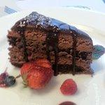Flourless Chocolate Cake - very very rich