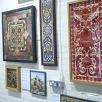 Examples of Jackfield tiles