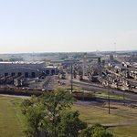 Union Pacific Railroad Bailey Yard Foto