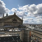 Galeries Lafayette in opera area is a great place for shopping, window shopping, and people watc
