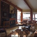 View of the family room for the condo we stayed in.