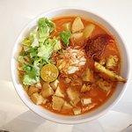 Jawa signature noodle. So full so delicious.