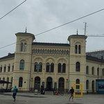 黄色の建物