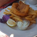 Fish & Chips With Fries
