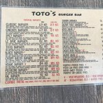 Photo of Toto's Burger Bar