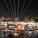 Glorious build up to Vivid Sydney