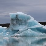 Compressed blue ice