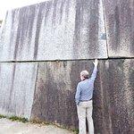 Huge stone slabs