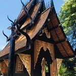 Foto de Black House - Baan Si Dum - Museu Baandum