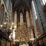 Photo of St. Mary's Basilica in Krakow