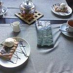 Татарский чай с десертом