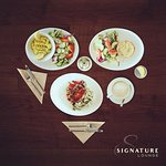 Our New Signature Lounge meals for purchase
