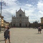The ample square upon which Santa Croce is located.